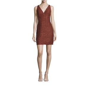 Romeo & Juliet Couture V-Neck Lace Dress NWT